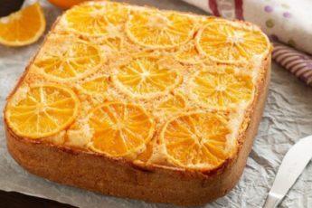 Рецепт вкуснейшего апельсинового пирога. Хрустящая корочка и пушистая мякоть