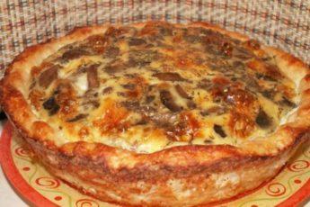 Картофельное лукошко с мясом и грибами. Все подруги уже разобрали рецепт