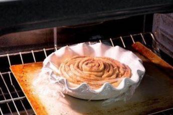 Торт-рулет с корицей Или очень большой «синнабон»!