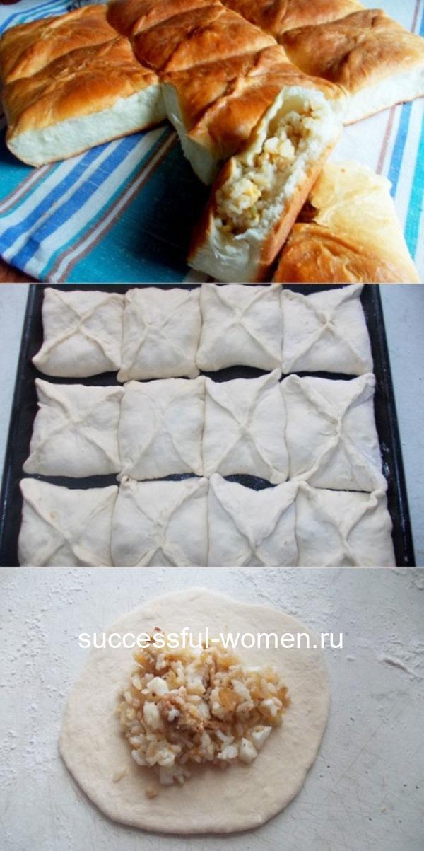 Простой и вкусный пирог с рисом - нет слов)