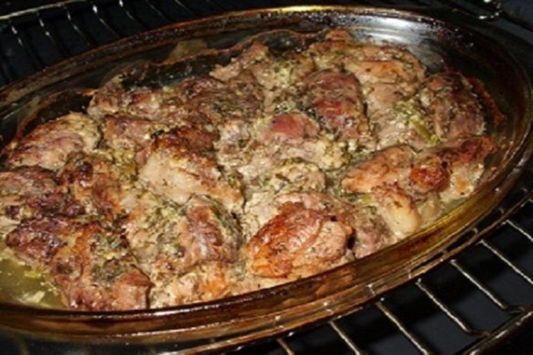 Грузины знают толк в божественном мясе. Самое нежное мясо, которое я когда-либо ела.