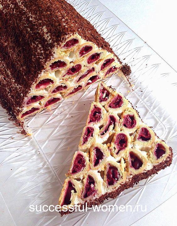 Обалденный торт «Монастырская Изба» или «Дрова под Снегом»