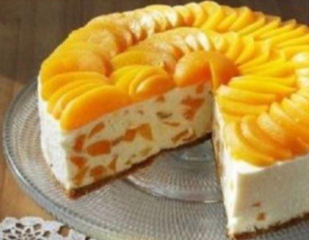 Никто не верит, что я готовлю его так просто без духовки! Идеальный творожный торт с апельсинами без выпечки