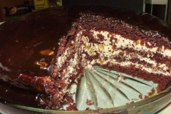 Роскошный торт «Прага» по старинному рецепту