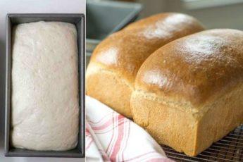 Рецепт хлеба домашнего приготовления. Гораздо вкуснее магазинного 1