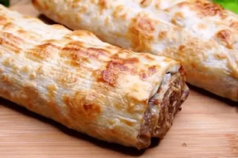 Моя подруга армянка научила меня готовить вкусную, быструю и сытную закуску в лаваше 1
